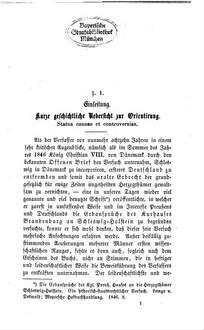 Preußen und die Schleswig-Holsteinische Staats-Erbfolge : Eine polem. Erörterung als zweites Wort in d. Angelegenheit