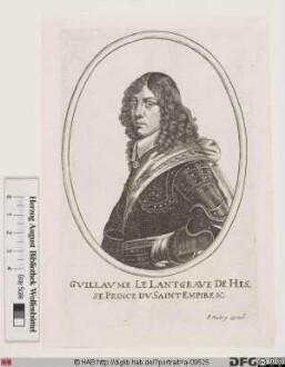 Bildnis Wilhelm VI. der Gerechte, Landgraf von Hessen-Kassel (reg. 1637(1650)-1663)