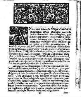 Programma quo post brevem dissertationem de Christiano professoris philosophiae officio habendas a se praelectiones indicat M. Io. Henr. Callenberg ...
