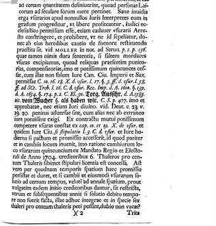 Pro-cancellarius D. Carolus Fridericus Romanus facultatis iuridicae assessor solennem doctoralem promotionem ... Ernesti Christophori Mulleri ... indicit : [praefatus de usurario Iudaeorum foenore]