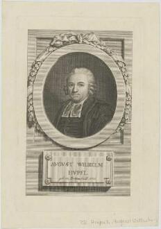 Bildnis des Avgvst Wilhelm Hvpel