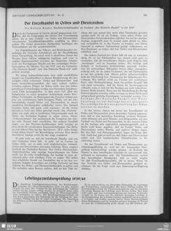 Lehrlingszwischenprüfung 1939/40