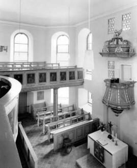Schlosskirche, Innenansicht