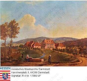 Aschaffenburg, Auhof in Aschaffenburg-Damm / Außenansicht