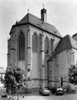 Walpurgiskirche von Nordwesten