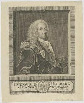 Bildnis des Lvdewig Holberg