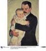 Der Maler Gutmann mit Kind