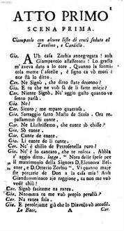 ˜Loœ Baccalajuolo osia li cobte Mazzoccola : commedia secondo il buongusto moderno