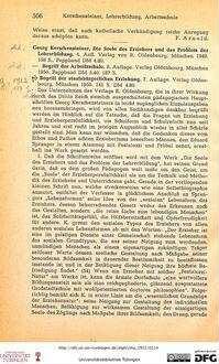 506-509 [Rezension] Kerschensteiner, Georg, Die Seele des Erziehers und das Problem der Lehrerbildung