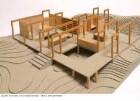 Sommerhaus - Modell des Gesamtgebäudes