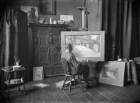 Künstleratelier Edmund Hegenbarth (1868- ), Genremaler