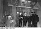Aufnahmen der Gründungsfeier der DEFA am 17. Mai 1946 in den ehemaligen Althoff-Ateliers in Potsdam-Babelsberg