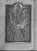 Psalterium (sogenannter Landgrafenpsalter) — Christi Himmelfahrt, Folio 109verso
