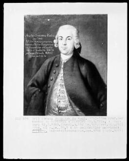 Bildnis des Emil Ludwig Hombergk zu Vach, 1743-1780 Professor der Rechte in Marburg (1720-1783)
