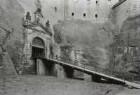 Königstein. Festung. Torhaus (1589-1591, P. Buchner). Rampe und Portal (1729-1736) zum Torhaus