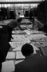 Vorprüfung der Arbeiten für den Internationalen Ideenwettbewerb zur Altstadtsanierung von Karlsruhe in der Nancyhalle