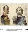 """Dr. von Zander und Graf zu Dohna-Schlodien. Studie zum Gemälde """"Krönung Wilhelms I. in Königsberg"""""""