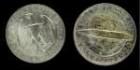 Münze Zeppelinflug