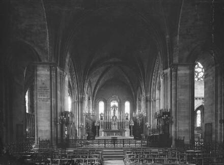 Inneres, Vierung, Blick zum Chor