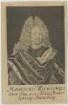 Bildnis des Mauritius Wilhelmus, Dux Sax. etc., Administrator Episcop. Martisburg.