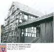Klein-Bieberau, Hauptstraße 1 / eingerüstetes Fachwerkhaus von H. Maul / 3 verschiedene Ansichten