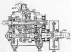 Getriebekasten, Längsschnitt (Daimler)