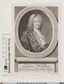 Bildnis Ludvig Holberg (1747 Baron von)