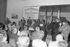 Ehrung von bei der Zivilverwaltung der US-Army beschäftigten 51 deutschen Arbeitsjubilaren im US-Offiziersclub