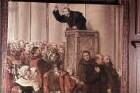 Szenen aus dem Leben Martin Luthers — Luthers Predigt gegen den Ablaßhandel