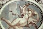 Cupid mit Pfeil und Bogen