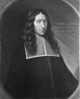 Bildnis des Heinrich May, 1669-1682 Professor der Medizin in Marburg (1632-1669)