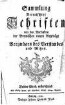 Sammlung vermischter Schriften : von den Verfassern der Bremischen neuen Beyträge zum Vergnügen des Verstandes und Witzes, 3. 1752/57
