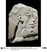 Relieffragment mit Kopf des Pharao Echnaton