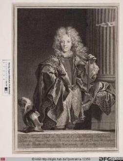 Bildnis Jean-François-Paul de Bonne de Créqui, duc de Lesdiguières