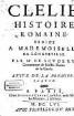 Clélie : histoire romaine. 1,2, Suite de la premiere partie