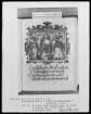 Flugschrift mit Illustrationen aus den Papstprophezeiungen mit antipäpstlichen Spottversen — Allegorische Darstellung zu Papst Nikolaus 4. (1288-1292), Folio 12recto