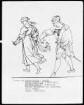 """Bilder zu Goethes """"Faust"""" (Folge von 12 Blättern) — Studie zum Blatt """"Szene am Ausgang der Kirche"""""""
