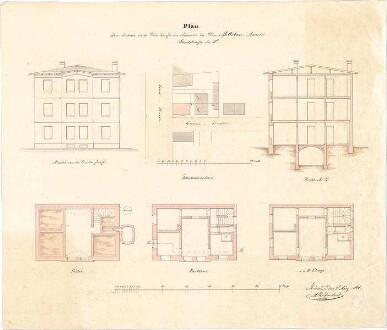reiffenstuel michael m nchen wohnhaus m urban lageplan grundriss keller grundriss eg. Black Bedroom Furniture Sets. Home Design Ideas