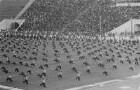 Einweihung des Zentralstadions sowie die Eröffnung des II. Deutschen Turn- und Sportfestes am 4. August 1956