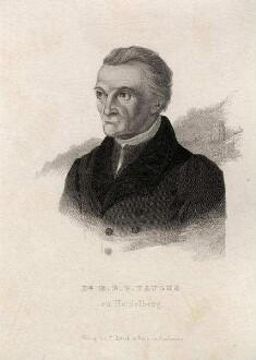 Paulus, Heinrich Eberhard Gottlob Dr. (geb. 1.9.1761 Leonberg, gest. 10.8.1851) - Professor der Theologie an der Universität Heidelberg