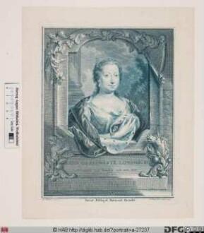 Bildnis Anna, Prinzessin von Oranien, geb. Prinzessin von Großbritannien u. Irland