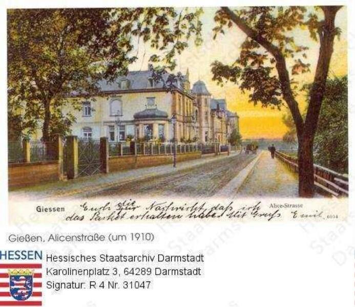 Gießen, Alicenstraße