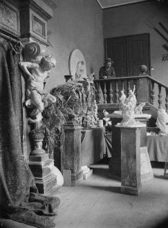 Künstleratelier Rudolf Maison (1854-1904), Bildhauer