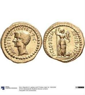Röm. Republik: M. Lepidus und P. Clodius
