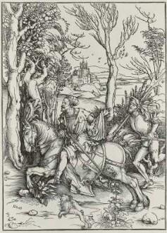 Der Ritter mit dem Landsknecht