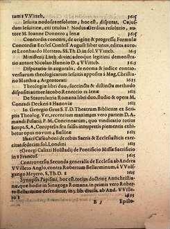 Catalogus novus vernalium Francofurti ad Moenam Anno M.DCXIV. celebratarum ...