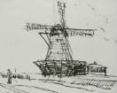 Mühle auf Sylt