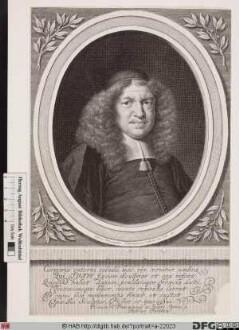 Bildnis Johann Peter Titius (eig. Titz)