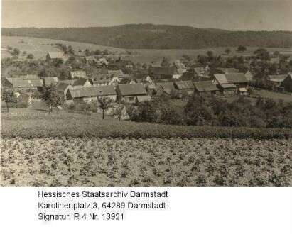 Asbach im Odenwald, Panorama