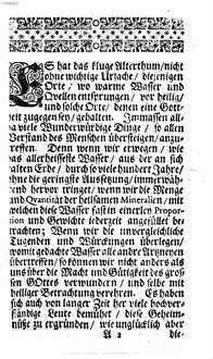 Untersuchung des Carls-Bades : nach Anleitung Herrn Friedrich Hoffmanns ans Licht gegeben
